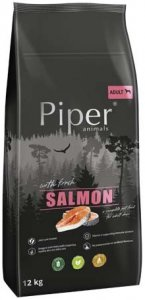 Piper Animals Adult s lososem 12 kg