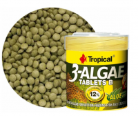 Tropical 3-Algae Tablets B 50ml, 36g, 200ks