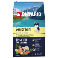 ONTARIO Senior Mini Fish & Rice 6,5kg