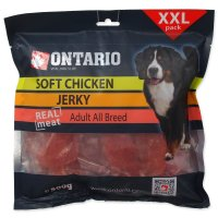 Snack ONTARIO Dog Soft Chicken Jerky 500g