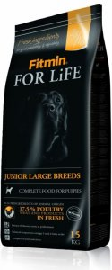 Fitmin For Life Junior Large Breed pro psy 15kg