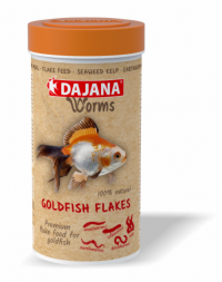 DAJANA WORMS Goldfish flakes 250ml