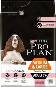 PRO PLAN M/L Senior 7+ OPTIDERMA losos 14kg