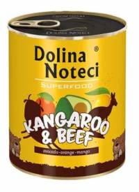 Dolina Noteci Superfood Klokan a hovězí 800g