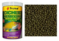 Tropical Cichlid Herbivore Medium Pellet 1000 ml, 360 g