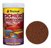 Tropical Cichlid Carnivore Pellet Small 1000 ml, 360 g