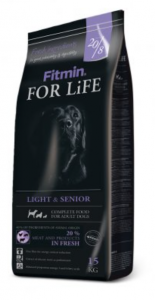 Fitmin For Life Light & Senior pro psy 15kg