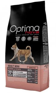 OPTIMAnova dog ADULT MINI SENSIT. GF Salmon 8kg-11721