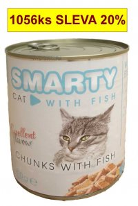 SMARTY chunks CAT 810g  FISH-ryba-7747