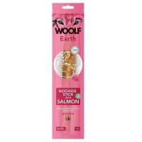 WOOLF Earth Noohide Sticks with Salmon XL 85 g