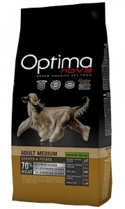 OPTIMAnova dog ADULT MEDIUM GF Chicken12kg-11714