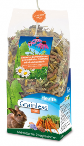 JR FARM Grainless MIX Osmák / činčila600gr.