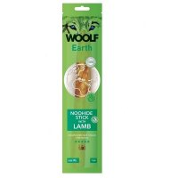 WOOLF Earth Noohide Sticks with Lamb XL 85 g