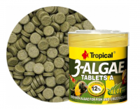 Tropical 3-Algae Tablets A 50ml, 36g, 80ks