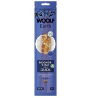 WOOLF Earth Noohide Sticks with Duck XL 85 g
