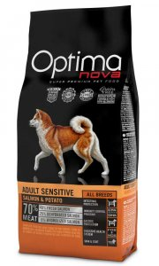 OPTIMAnova dog ADULT SENSITIVE GF Salmon  2kg-11093