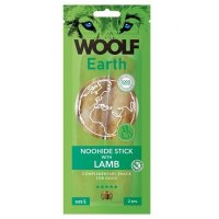 WOOLF Earth Noohide Sticks with Lamb L 85 g