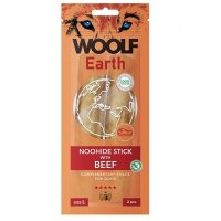 WOOLF Earth Noohide Sticks with Beef L 85 g