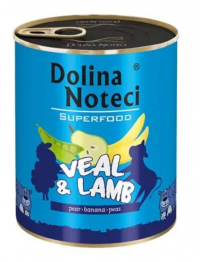 Dolina Noteci Superfood Telecí a jehněčí 800g