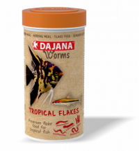 DAJANA WORMS Tropical flakes 250ml